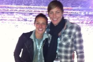 Abby Wambach Says Response To Her Marriage Has Been Awesome On