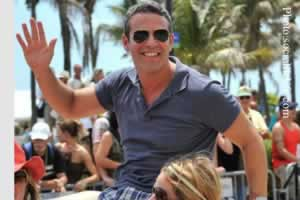 Andy Cohen Serves As Grand Marshal To Miami's Gay Pride Parade