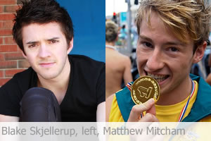 Matthew Mitcham, Blake Skjellerup Named 2014 Gay Games Ambassadors