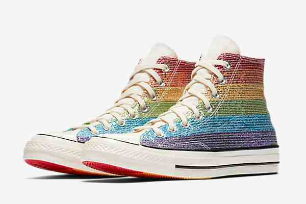 02c183b2ad6d Singer-songwriter Miley Cyrus designed Converse s new LGBT Pride collection.