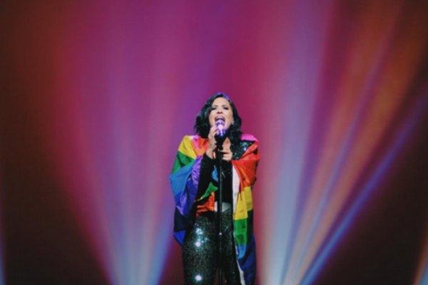 Demi Lovato Miami Pride Flag Song
