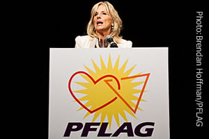 JILL BIDEN Addresses Gay And Lesbian Support Group In Alexandria - Old Town ...