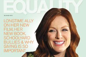 gay Julianne lesbian moore