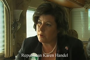 Karen Handel Gay Rights Parade 6
