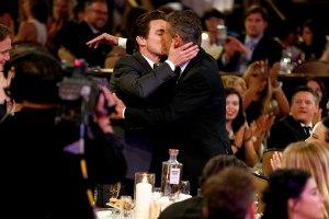 Matt Bomer Kisses Husband In Accepting Critics Choice ...