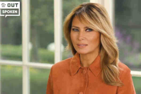 Melania Trump Defends Husband's LGBT Record; Says He Treats Gays, Lesbians 'Equally'