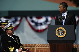 Obama Credits Outgoing Mike Mullen For DADT Repeal