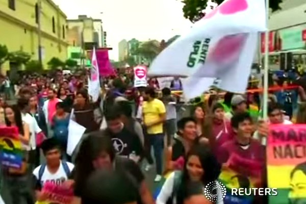 Peruvians March For Marriage Equality | On Top Magazine