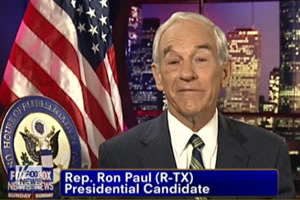 ron paul gay position
