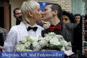 License Russian Lesbians Denied Marriage 31